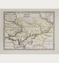 Des Russischen Reiches Statthalterschaften Neurussland, Asow und das östliche Nogay