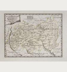 Des russischen Reiches Statthalterschaften Woronesch, Belgorod, Kiow o. Kleinrussland und Charkow od. d. Russische Ukraine
