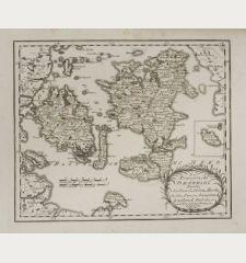 Des Königreichs Daenemark Inseln Seeland, Möen, Bornholm, Fünen, Langeland, Laaland, Falster und den dazu gehörigen...