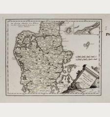 Des Königreichs Daenemark Halbinsel Jütland