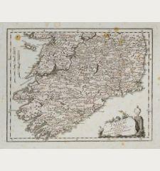 Des Königreichs Ireland Provinz Mounster mit dem nördlichen Theile der Provinzen Leinster und Conaught