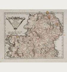 Des Königreichs Ireland Provinz Ulster mit dem nördlichen Theile der Provinzen Leinster und Connaught