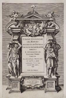 Graphics, Porcacchi, Title Pages, 1572: L'Isole piu famose del Mondo