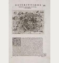 Descrittione della gran citta, e isola Temistitan
