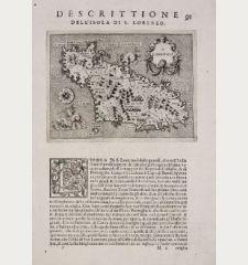 S. Lorenzo - Descrittione dell'Isola di S. Lorenzo.