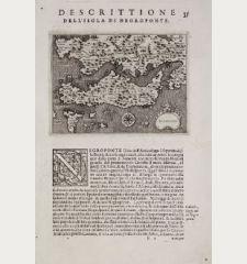 Negroponte - Descrittione dell'Isola di Negroponte.