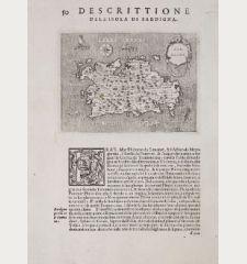 Sardegna - Descrittione dell'Isola di Sardigna.