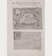 Corsica - Descrittione dell'Isola di Corsica.