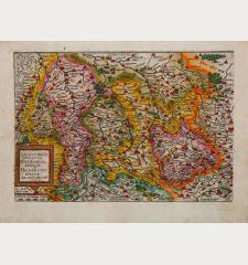 Braunswick Ducatus Hildesheim Episcop & Halberstat Episcop. cum caeteis adiacentibs. 1593