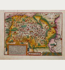 Hessenlandt vorzeiten ein Graeffschafft, nun aber zu einer Landtgraefschafft erhohet ist.