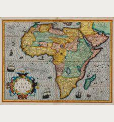 Nova Africae Tabula Auctore Jodoco Hondio