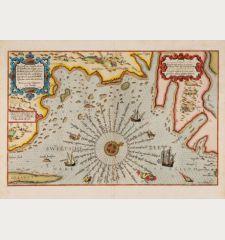 Zee Custe van Sweeden otrent de Westerwijck en tgatt vann Stockholm... Kalmar... en Rookoe