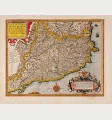 Cataloniae principatus novissima et accurata descriptio