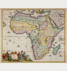 Totius Africae Accuratissima Tabula Authore Frederico de Wit