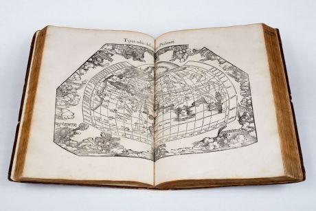Atlases, Fries, Ptolemy Atlas, 1541: Claudii Ptolemaei Alexandrini Geographicae Enarrationis, Libri Octo ... Prostant Lugduni apud Hugonem a Porta. M. D. XLI.