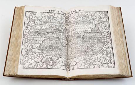Atlanten, Münster, Ptolemaeus Geographia, 1552: Geographiae Claudii Ptolemaei Alexandrini, Philosophi ac Mathematici praestantissimi, Libri VIII... his accesserunt......