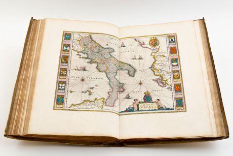 Atlases, Blaeu, Atlas Italy and Greece, 1664-65: Sevende Stuck der Aerdrycks-Beschryving, Welck Vervat Italien en Griecken.