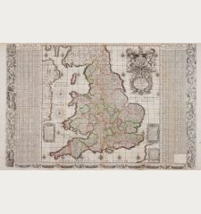 [Angliae totius tabula...] - An Alphabeticall Table of all the Cities and Market Towns in England and Wales - Serenissimo ac...