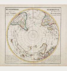 Hemisphere Meridional pour voir plus distinctement Les Terres Australes...