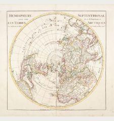 Hemisphere Septentrional pour voir plus distinctement Les Terres Arctiques...