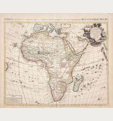 L'Afrique Dressee sur les Observations de M. de l'Academie Royale des Sciences...