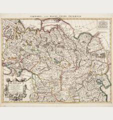 Carte de Tartarie Dressee sur les Relations de Plusieurs Voyageurs de Differentes Nations... / Tartaria, sive magni chami...