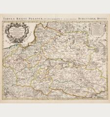 Estats de la Couronne de Pologne / Tabula Regni Poloniae
