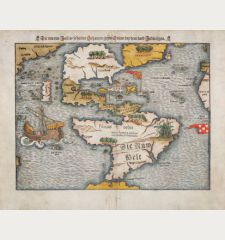 Die neuwen Inseln, so hinder Hispanien gegen Orient bey dem Land India ligen