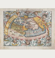 Ptolemaisch General Tafel, begreiffend die halbe Kugel der Weldt