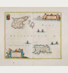 Sarnia Insula, vulgo Garnsey: et Insula Caesarae, vernacule Jarsey