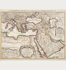 Estats de l'Empire du Grand Seigneur des Turcs en Europe, es Asie, et en Afrique / Nova Imperii Turcarum...