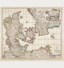 Dania Regnum In quo sunt Ducatus Holastia et Slesvicum Insulae Danicae.