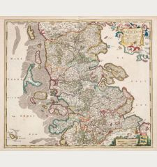 Ducatus Slesvicensis in omnes suas Praefecturas Circulos et Provincias Distinte Divisus