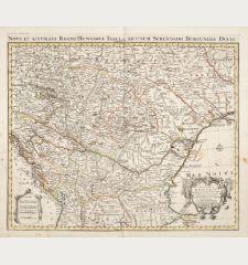 Le Royaume de Hongrie et des Pays qui en Dependoient Autrefois / Nova et Accurata Regni Hungariae Tabula