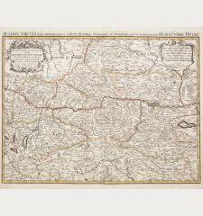 Partie du Cercle d'Austriche, Scavoir l'Archduche d'Austriche / Austriae Circuli...