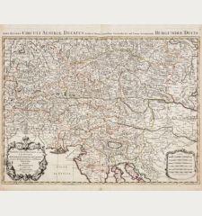 Partie du Cercle d'Austriche, ou sont les Duches de Stirie, de Carinthie, de Carniole / Pars Altera Circuli Austriae...