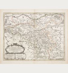 Le Comté de la Marck, Les Seigneuries des Abbayes de Werden, d'Essen, et la Ville Imperiale de Dortmundt