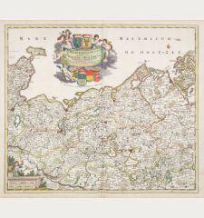 Ducatus Meklenburgicus in quo sunt Ducatus Vandaliae et Meklenburgi Ducatus et Comitatus Swerinensis