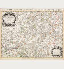 La Basse Partie du Cercle du Haut Rhein / Circuli Rheni Superioris...