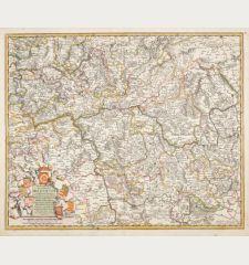 Archiepiscopatus et Electoratus Moguntini et adjacentium Regionum, ut Landgraviatum Hasso Darmstadiensis ...