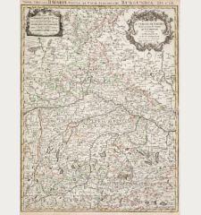 Le Cercle De Baviere / Nova Circuli Bavariae Tabula
