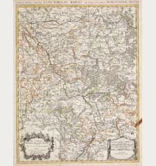 Le Cercle Eslectoral du Rhein divise en touts les Estats qui le composent
