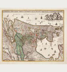 Comitatus Hollandiae Tabula Pluribus Locis Recens Emendata a Frederico de Wit