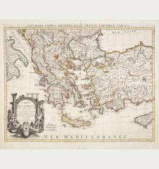 Carte de la Grece / Accurata totius Archipelagi et Graeciae