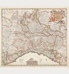 Status et Ducatus Mediolanensis Reipublicae Genuensis et Ducatus Parmensis et Montisferrati Novissima Descriptio