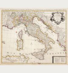 L'Italie, Dressee sur les Observations de Mrs. de l'Academie Royale des Sciences