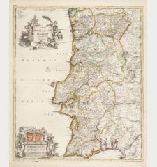 Novissima Regnorum Portugalliae et Algarbiae Descriptio ...