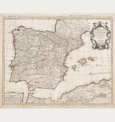 L'Espagne Dressee sur la Description qui en a ete Faite par Rodrigo Mendez Sylva ...