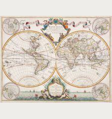 Mappe-Monde Dresse sur les Observations de Mrs de l'Academie Royale des Sciences
