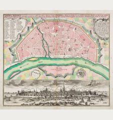 Cölln am Rhein eine uhralte, sehr grosse, Hochberühmte freye Reichs- und florisante Handel-Statt / Colonia Agrippina